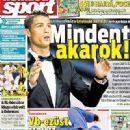 Nemzeti Sport - Nemzeti Sport Magazine Cover [Hungary] (30 August 2014)