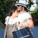 Nikki Reed and Ian Somerhalder out in Venice - 454 x 614
