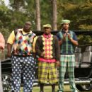 Chase Tatum (Kidd Clean), Faizon Love (Big Large), Big Boi (C-Note) and Finesse Mitchell (Dread) star in Don Michael Paul's  Who's Your Caddy? Photo by: Courtesy of Dimension Films, 2007 / Fred Norris
