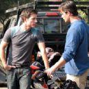 Philipp Karner as Matt and James O'Shea as Ryan in Kiss the Bride. - 454 x 340