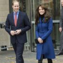 Catherine, Duchess of Cambridge, Prince William Windsor visit Dundee on October 23, 2015