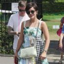 Lily Allen – Wimbledon Tennis Championships 2019 in London - 454 x 835