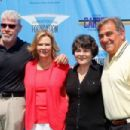 Actors Ron Perlman, JoBeth Williams, SAG Foundation executive director Jill Seltzer, and actor Dan Lauria attend the 3rd Annual SAG Foundation Golf Classic at Lakeside Golf Club on June 11, 2012 in Burbank, California - 454 x 303