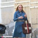 Elisabeth Moss – Filming 'The Kitchen' in New York - 454 x 693