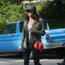 Jenna Dewan Tatum having breakfast in Los Feliz