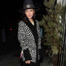 Jessica Szohr at Catch restaurant in Los Angeles February 21, 2017 - 454 x 728