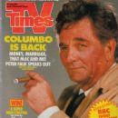 Peter Falk - TV Times Magazine [United Kingdom] (23 February 1991)