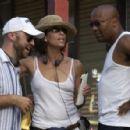 Writer/Director Craig Brewer, Producer Stephanie Allain, Producer John Singleton; Photo By: Alan Spearman. - 454 x 297