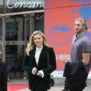 Chloe Moretz and her brother Trevor Duke Moretz go to the House of Denmark in Paris