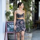 Olivia Culpo- Larchmont Village in Los Angeles 06/10/2019