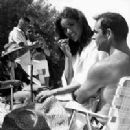 Sean Connery and Claudine Auger - 201 x 251