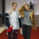 Hailey Baldwin and Justin Bieber – Leaves their hotel in Beverly Hills
