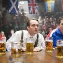 """From left to right: PAUL SOTER as Jan Wolfhouse, WILL FORTE as Otto and KEVIN HEFFERNAN as Landfill in Warner Bros. Pictures' and Legendary Pictures' comedy """"Beerfest."""" Photo by Richard Foreman, Jr., SMPSP"""