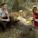Seann William Scott as Wheeler and Bobb'e J. Thompson as Ronnie in Universal Pictures' Role Models.