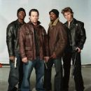 (Left to right) Tyrese Gibson, Mark Wahlberg, Andre Benjamin and Garrett Hedlund. ©2005 Four Brothers/Paramount Pictures.