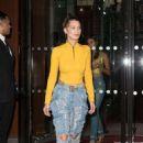 Bella Hadid – Leaves the hotel Royal Monceau in Paris