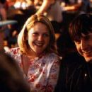 Drew Barrymore and David Arquette in Never Been Kissed