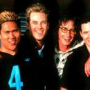 Dante Basco, Ryan Browning, Derek Hamilton and A.J. Buckley in Providence's Extreme Days - 2001