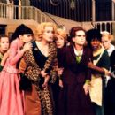 Ludivine Sagnier (far left), Virginie Ledoyen, Catherine Deneuve, Danielle Darrieux, Isabelle Huppert, Firmine Richard and Emmanuelle Beart in Focus Films' 8 Women - 2002 - 400 x 274