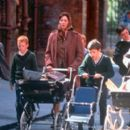 Anjelica Huston with the boys in USA Films' Agnes Browne - 2000