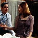 Jason Biggs is surprised by Alyson Hannigan candor about sex in Universal's American Pie - 1999