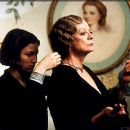 Kelly MacDonald and Maggie Smith in USA Films' Gosford Park - 2001