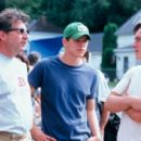 Director Mark Piznarski, Josh Hartnett and Chris Klein in 20th Century Fox's Here On Earth - 2000 - 400 x 269