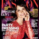 Evangeline Lilly - Fashion Magazine Cover [Canada] (January 2015)