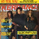 Doug Pinnick, Ty Tabor, Jerry Gaskill - Kerrang Magazine Cover [United Kingdom] (31 March 1990)