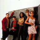 Elden Henson, Seth Green, Vivica A. Fox, Devon Sawa and Jessica Alba in Columbia's Idle Hands - 1999