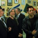 Eli Wallach, Anne Bancroft, Ben Stiller and Jenna Elfman in Touchstone's Keeping the Faith - 2000
