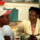 Director Doug McHenry and Whoopi Goldberg on the set of Fox Searchlight's Kingdom Come - 2001