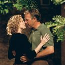 Kevin Costner and Robin Wright Penn in Warner Brothers' Message In A Bottle - 1999
