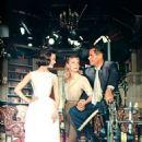 Carole Ford, Glenn Ford and Yvette Mimieux - 454 x 599