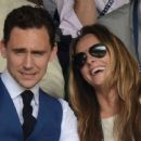 Tom Hiddleston and Jane Arthy