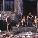 Jeremy Davies, Adam Goldberg, Edward Burns and Tom Sizemore in Dreamworks' Saving Private Ryan - 7/98