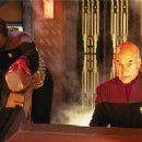 Michael Dorn and Patrick Stewart in Star Trek: Insurrection