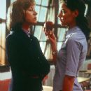 Helen Mirren and Katie Holmes in Teaching Mrs. Tingle - 8/99