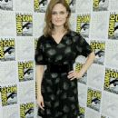 Emily Deschanel - Day 2 Of The 2009 Comic-Con International Convention At The San Diego Convention Center On July 24, 2009 In San Diego, California