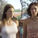 (left to right) Erin (Jessica Biel) and Pepper (Erica Leerhsen) are faced with a difficult decision.