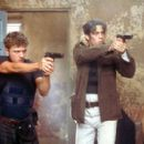 Longtime partners Parker (Ryan Phillippe) and Longbaugh (Benicio Del Toro) in Artisan's The Way Of The Gun - 2000