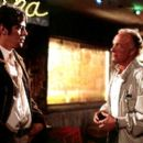 Longbaugh (Benicio Del Toro) and Sarno (James Caan) in Artisan's The Way Of The Gun - 2000