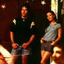 Paul Rudd and Marguerite Moreau in USA Films' Wet Hot American Summer - 2001
