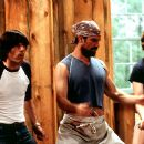 Michael Showalter, Christopher Meloni and A.D. Miles in USA Films' Wet Hot American Summer - 2001