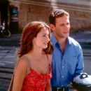 Penelope Cruz as Isabella and Mark Feuerstein as Cliff in Fox Searchlight's Woman On Top - 2000