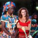 Harold Perrineau Jr. as Monica and Penelope Cruz as Isabella in Fox Searchlight's Woman On Top - 2000