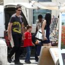 Matthew Fox-July 6, 2009-Matthew Fox and Family in Spain - 454 x 325