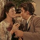 Michael Landon and Ruth Roman
