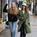 Lana Del Rey and a friend are spotted out shopping in Sherman Oaks, California on January 23, 2017 - 454 x 581