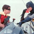 Burt Ward as Robin The Boy Wonder and Adam West as Batman The Caped Crusader in 20th Century Fox's Batman: The Movie - 1966